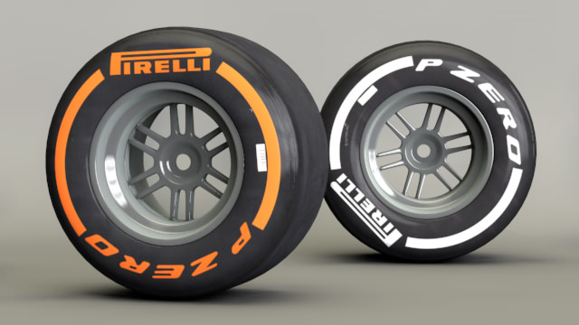 Hard and medium tyres